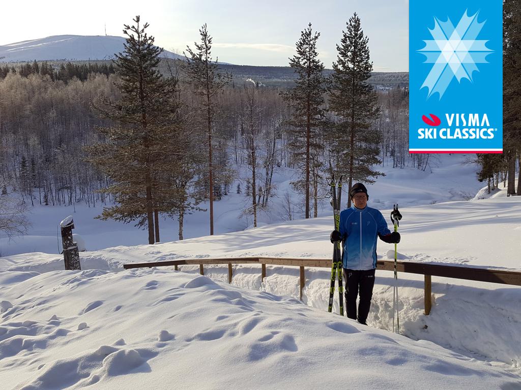 Visma Softwaren toimitusjohtaja Juha Mäntylä korkeanpaikanleiri